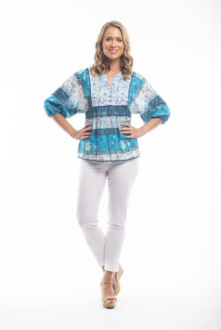 Orientique Boho Top