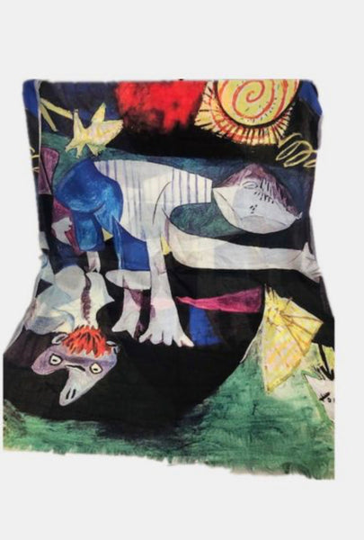 Art Scarf-Picasso