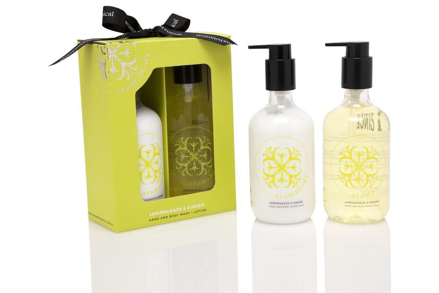 Lemongrass & Ginger Bath & Body Duo