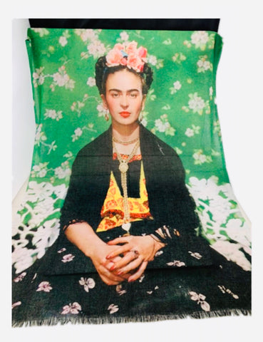 Art Series Scarf-Frida Kahlo