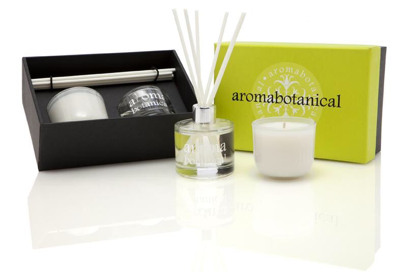 Lemongrass & Ginger Diffuser and Candle Gift Set