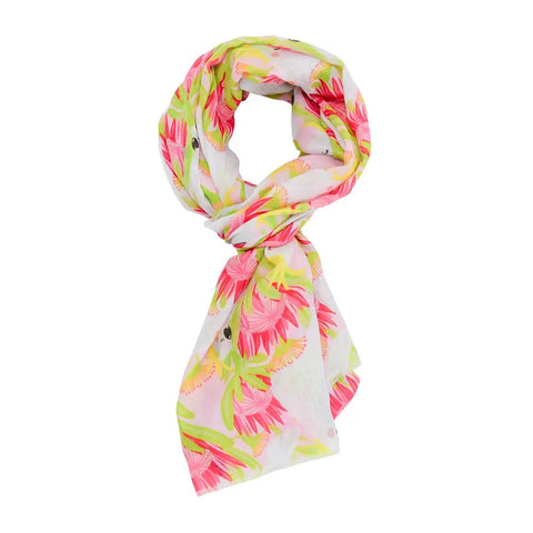 Scarf – Cockatoo Pink