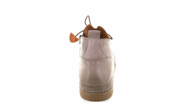LOLA -LEATHER BOOTS-HAT (NATURAL)