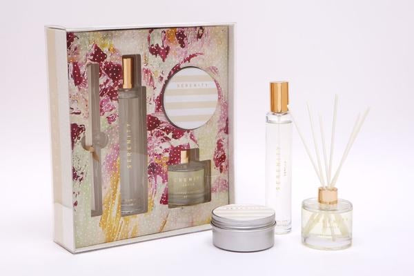 SERENITY GIFT PACKS - HOME FRAGRANCE SET