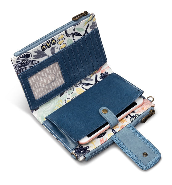 Olympic Smartphone Crossbody-Multi Peace Birds