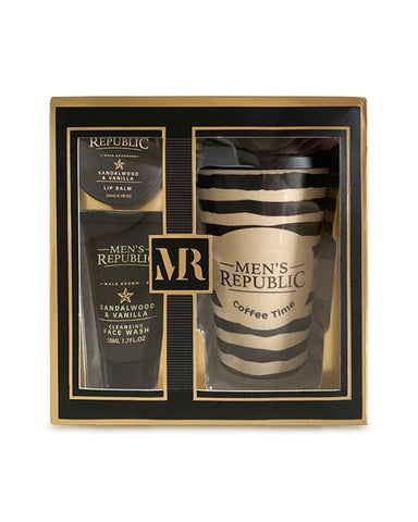 Men's Republic Grooming Kit - with Coffee Mug