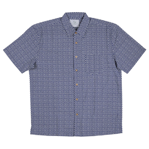 Men's BAMBOO FIBRE - Navy Cotton Ball