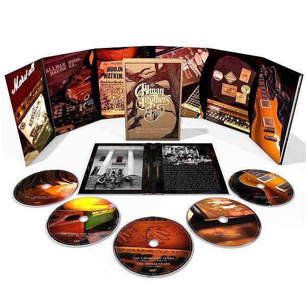 The Allman Brothers - 'Trouble No More: 50th Anniversary Collection - 5CD