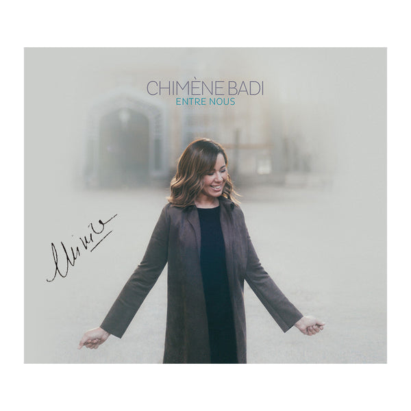 "Chimène Badi - Best Of CD Dédicacé ""Entre Nous"""