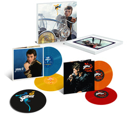 Johnny Hallyday - Vinyles couleur Johnny 67 - Coffret Deluxe