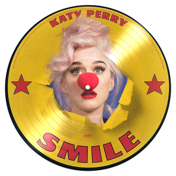 Katy Perry - smile - picture vinyle exclusif