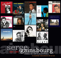 Serge Gainsbourg - L'essentiel des albums studio - 12 CD