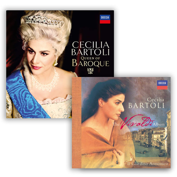 Pack Cécilia Bartoli - 2 CD - Queen of Baroque - The Vivaldi Album