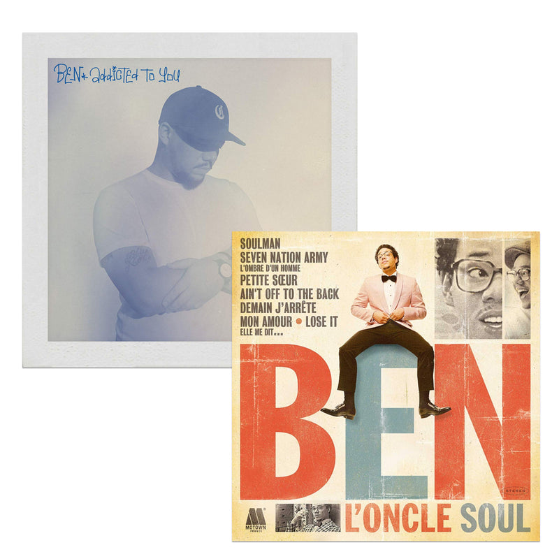 Pack Ben L'oncle Soul - 2 CD - Addicted to you - Ben L'oncle Soul