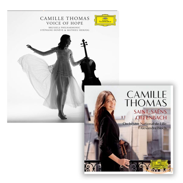 Pack Camille Thomas - 2 CD - Voice of Hope - Saint-Saëns- Offenbach