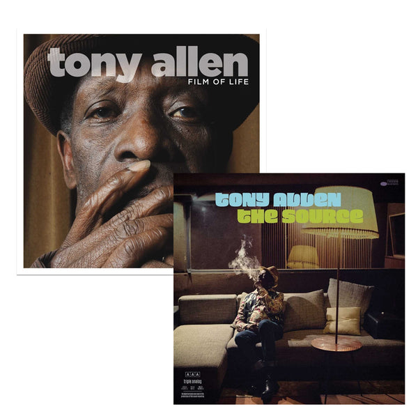Pack Tony Allen - 2 CD ou 2 vinyles - The Source - Film of Life