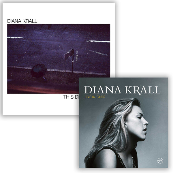 Pack Diana Krall - 2 CD - Live in Paris - This dream of you
