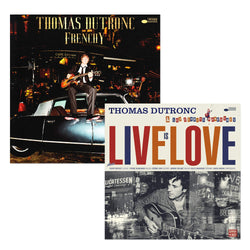 Pack Thomas Dutronc - 2 CD - Frenchy - Live is love