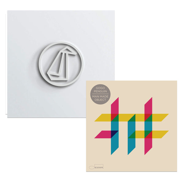 Pack GoGo Penguin - 2 CD - GoGo Penguin - Man Made Object