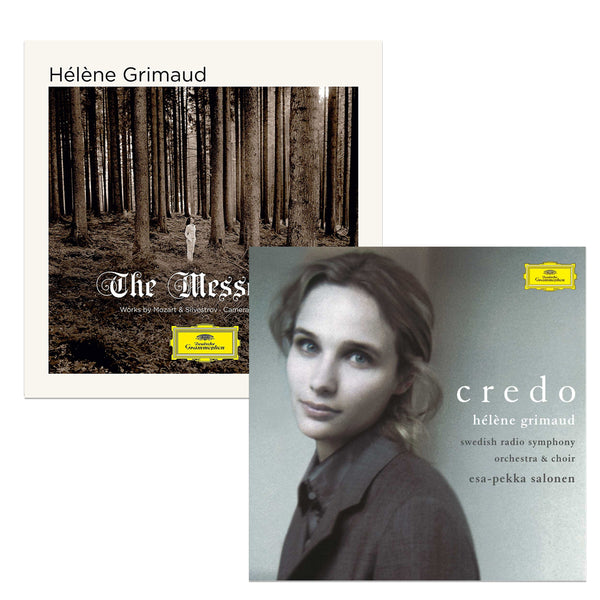Pack Hélène Grimaud - 2 CD - The Messenger - Credo