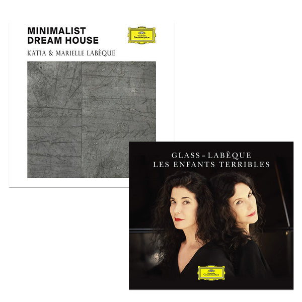 Pack Katia & Marielle Labèque - 2 CD - Glass : Les Enfants terribles - Minimalist Dream House