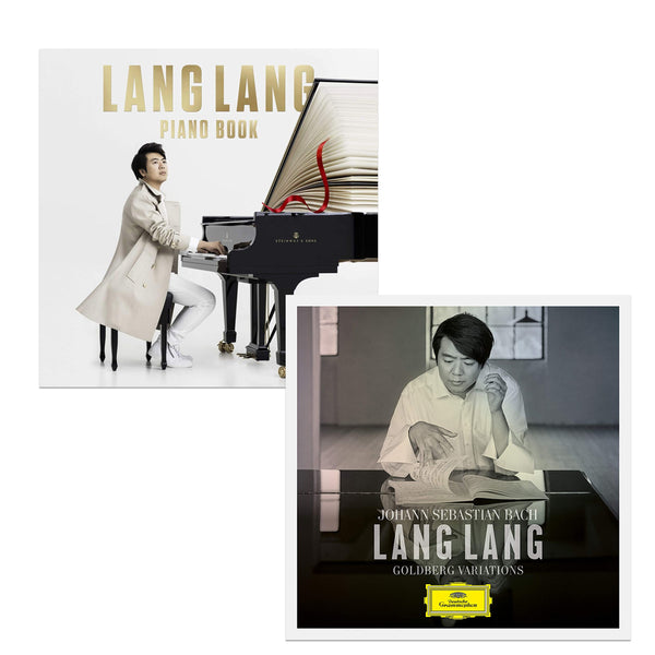 Pack Lang Lang - 2 CD - Bach : Goldberg Variations / Piano Book