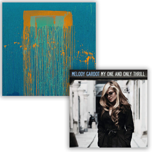 Pack Melody Gardot - 2 CD - Sunset In The Blue - My One & Only Thrill