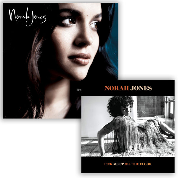 Pack Norah Jones - 2 CD - Pick Me Up Of The Floor - Come Away With Me
