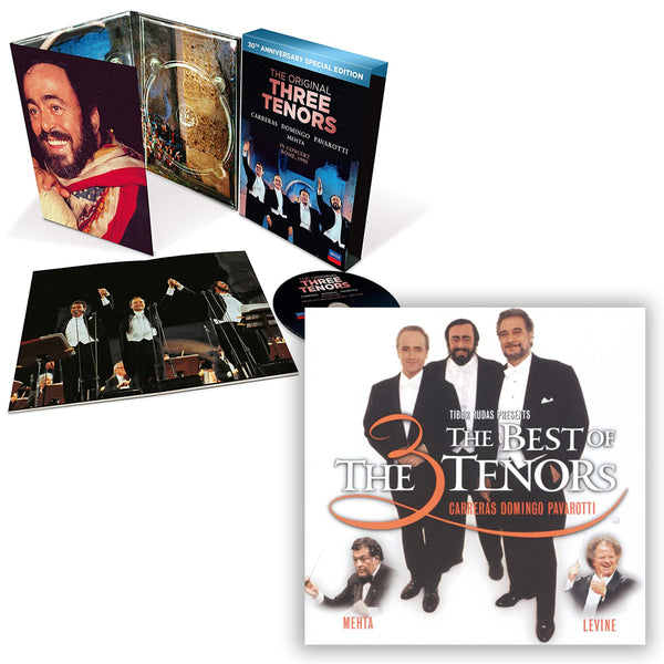 Pack The 3 Tenors - 2 CD - 30th Anniversary Edition - The Best of the 3 Tenors