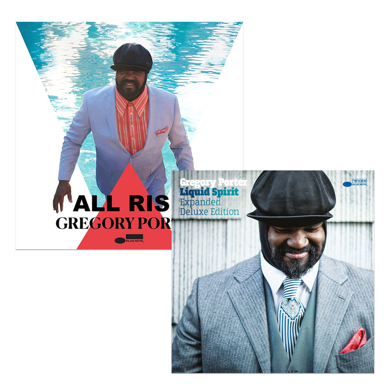 Pack Gregory Porter - 2 CD - All Rise - Liquid Spirit