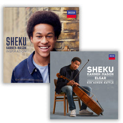 Pack Sheku Kanneh-Mason - 2 CD - Elgar: Cello Concerto - Inspiration