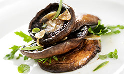 Portobello Steak Recipe using One on One Flavors  Garlic Flavored Liquid Concentrate