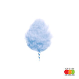 Blue Raspberry Cotton Candy Flavored Liquid Concentrate