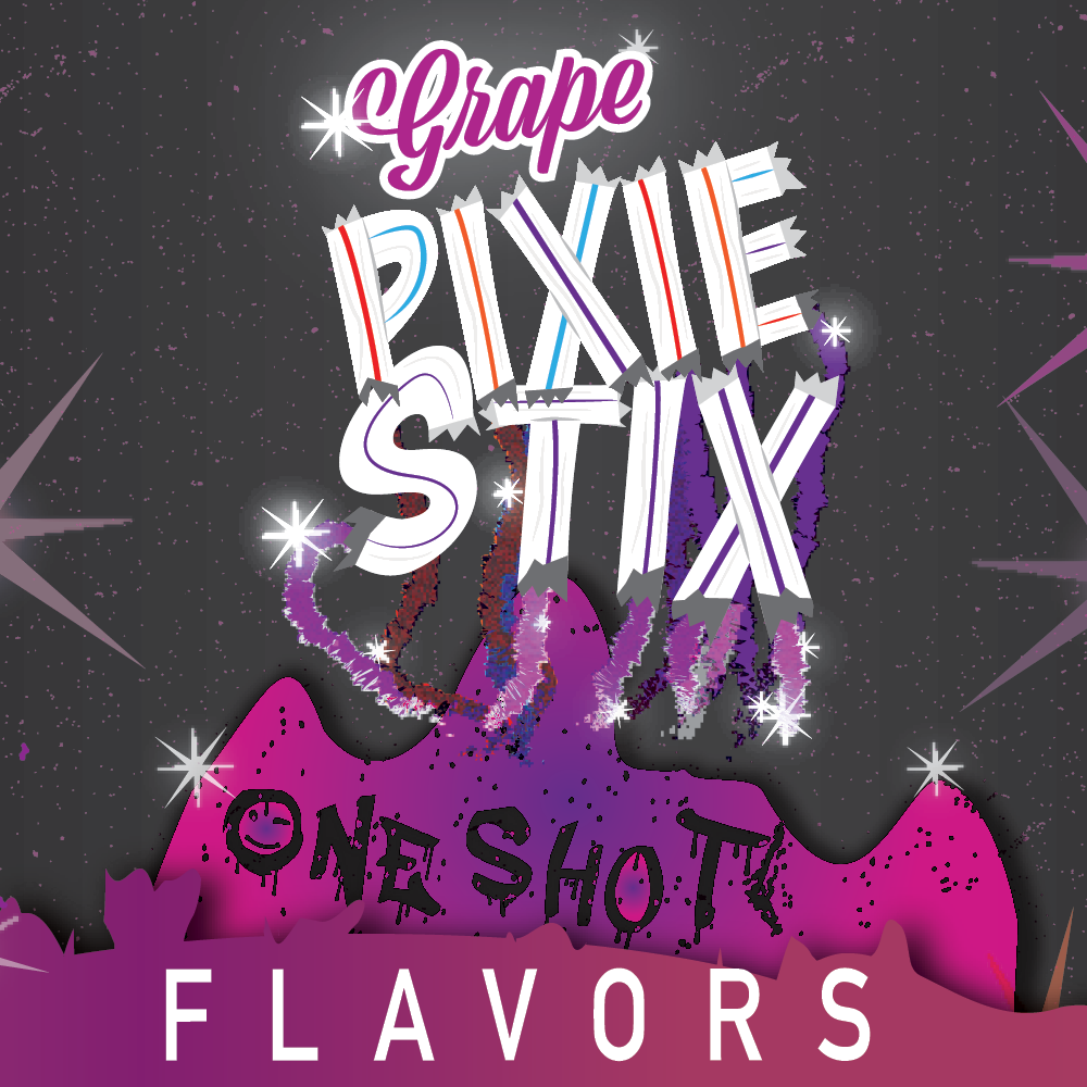 Grape Pixie Stix - One Shot