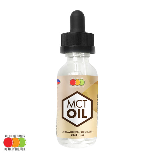 MCT Oil - 100% Unflavored and Unsweetened