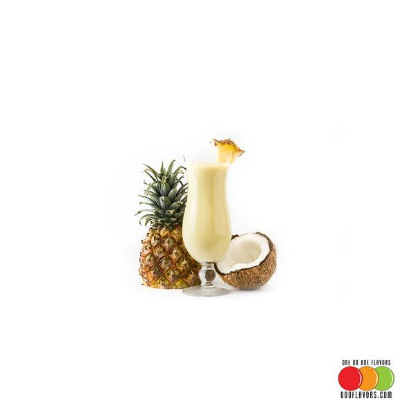 Pina Colada Oil 3X Flavored Liquid Concentrate