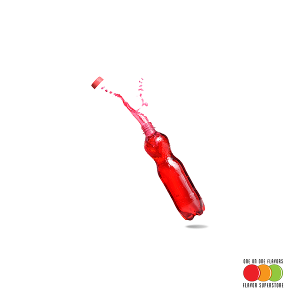 Bubble Red Soda Flavored Liquid Concentrate