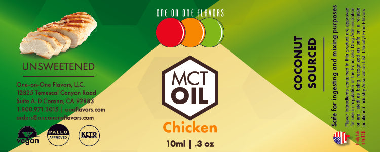 Natural Chicken - MCT Concentrated Flavored Oil *Unsweetened*