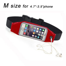 Load image into Gallery viewer, Case For Meizu m3 note U10 m3s Sports Belt Running Waist Bags Waterproof Fanny Pack Workout Cover Gym Case For Maze m3 note u10