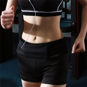 Professional Running Waist Bag Men Women Gym Sport Bag Trail Unisex Running Belt Invisible Fanny Waist Pack for Mobile Phone