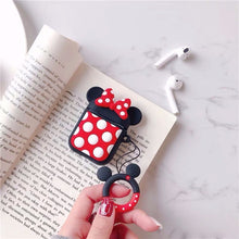 Load image into Gallery viewer, Cartoon Wireless Bluetooth Earphone Case For Apple AirPods Silicone Headphones Cases For Airpods 2 Protective Cover