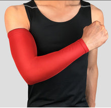 Load image into Gallery viewer, 1Pcs Breathable Quick Dry UV Protection Running Arm Sleeves Basketball Elbow Pad Fitness Armguards Sports Cycling Arm Warmers