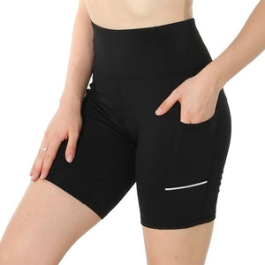 Workout Sport Shorts Women Summer Elastic Waist Quick Dry Gym Yoga Shorts Female Fitness Running Shorts Female