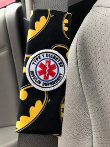 Bat Patch Seat Belt Alerts