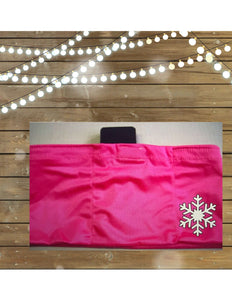 Pink Snow Flake Insulin Pump Band-Running Band