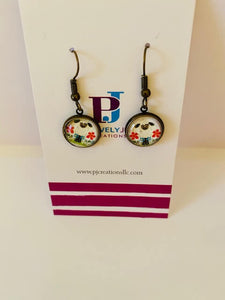 Lamb Dangling Earrings