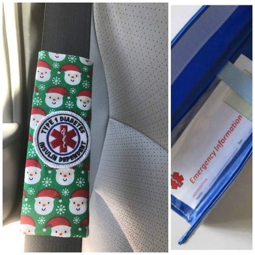 Santa Patch Seat Belt Alerts