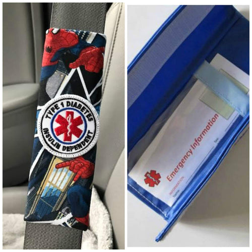Spider Patch Seat Belt Alerts