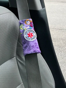 Princess Patch Seat Belt Alerts