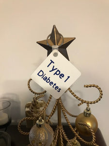 Type 1 Diabetes KeyChain